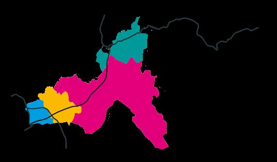 carte schématique du territoire du Bucopa